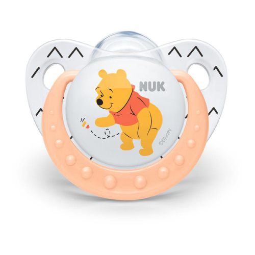 Nuk Orthodontic Soothers 2 in pack Disney Winnie the Pooh  0-6m  6-18m  Bpa free